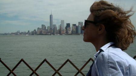 "A scene from ""I Don't Belong Anywhere: The Cinema of Chantal Akerman"""