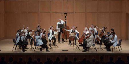 Chamber Music Northwest's Power of Strings concert featured many summer festival regulars/Photo by Tom Emerson