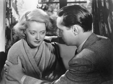 "Bette Davis and Franchot Tone in ""Dangerous."""