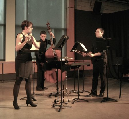 """Sound Of Late Ensemble performs """"Deluminescence"""" by Benjamin J. Penwell at 2016 Oregon Bach Festival Composers Symposium."""