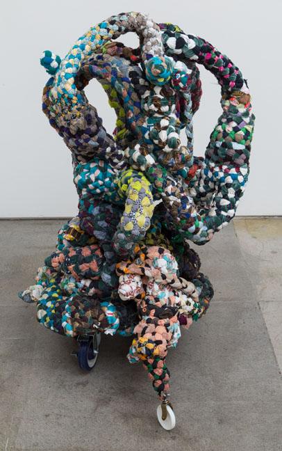 """MK Guth, """"Janitor, Banker, Subway""""/Elizabeth Leach Gallery"""