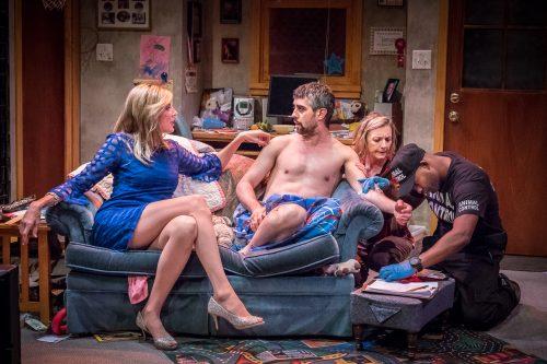 Hamblin, San Nicolas, Luch, Gibson: couch potatoes and more. Photo: Owen Carey