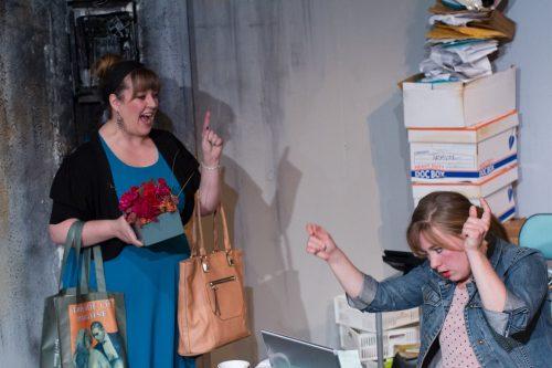 Jenn Hunter (Heather) and Kaia Maarija Hillier (Nora). Photo: Gary Norman