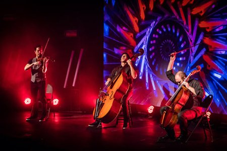 Simply Three brings the flash to Portland's Winningstad Theatre.