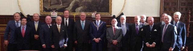 Presidente de Real Consejo de las Ordenes Militares, S.A.R. don Pedro de Borbón-Dos Sicilias y de Orleáns