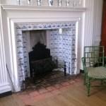 Fireplace in the nursery.