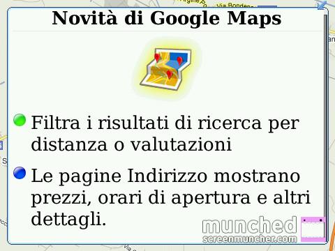 Nuove Funzioni Google Maps