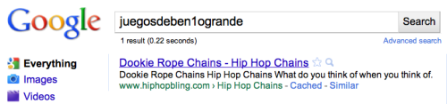 Google testa Bing