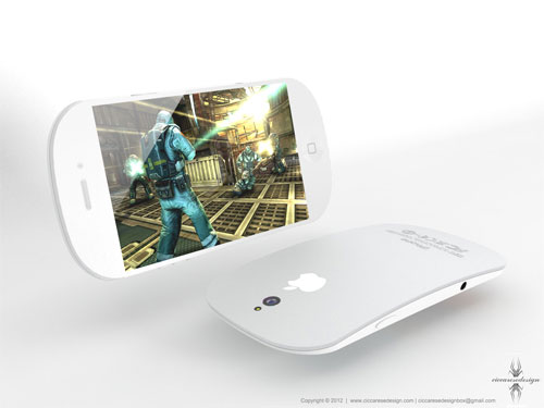 Concept iPhone 5: display maggiore e fotocamera centrale