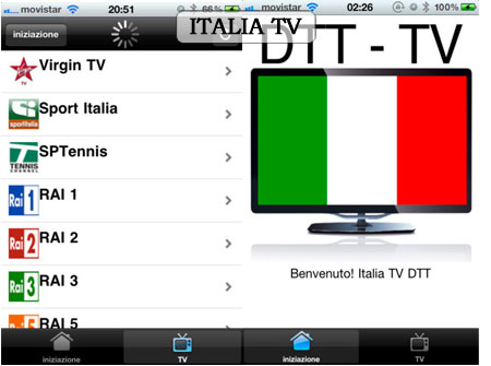 ITALIA TV DTT screenshoot