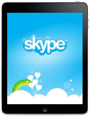 Skype su iPad