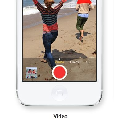 Apple iOS 7 beta 1: si può zommare durante la registrazione video!