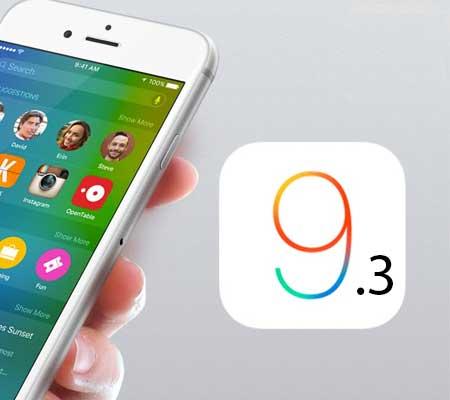 Apple iOS 9.3.2 beta, per gli sviluppatori