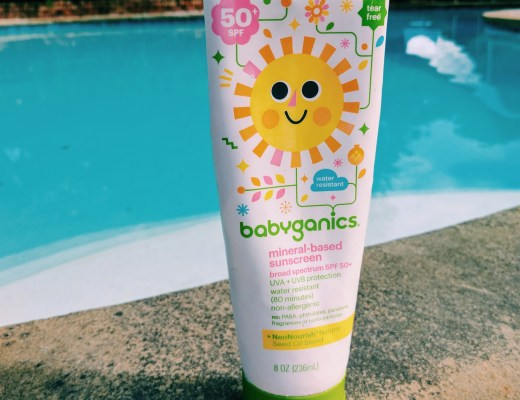 babyganics Mineral-based Sunscreen Photo by Erika Lynne Jones