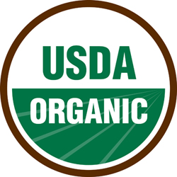 This seal tells you a product is certified organic by the USDA.