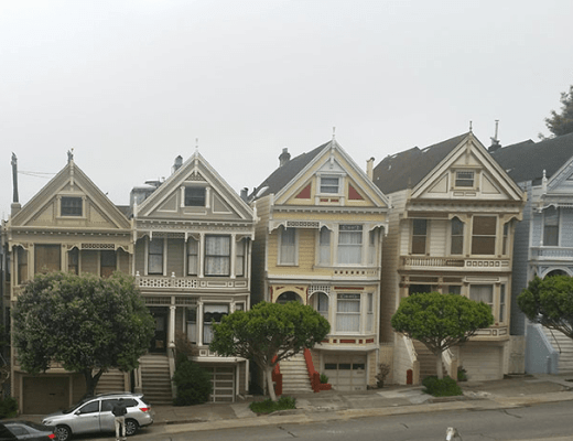 Mamas getaway painted ladies