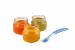 Glass jars are useful tools if your baby is starting solids.