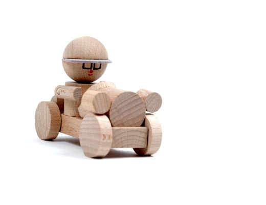 wooden toys are safe and sustainable.