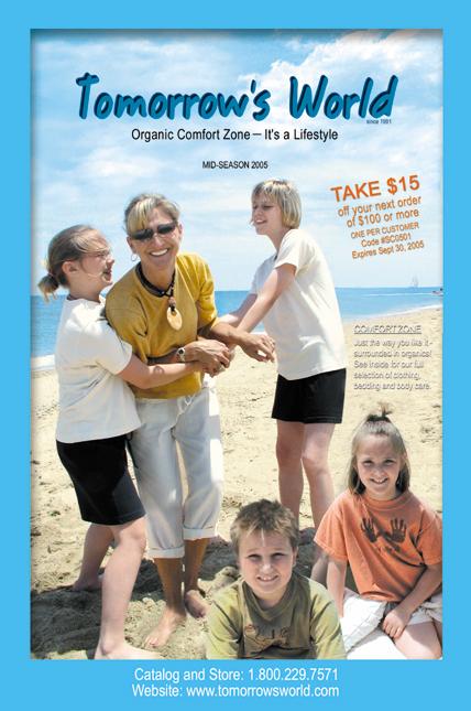 Organic Comfort Zone 2005 Catalog