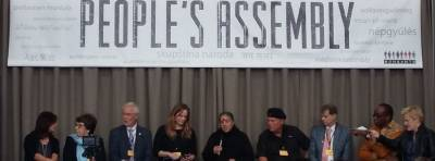The People's Assembly at the Monsanto Tribunal at the Hague