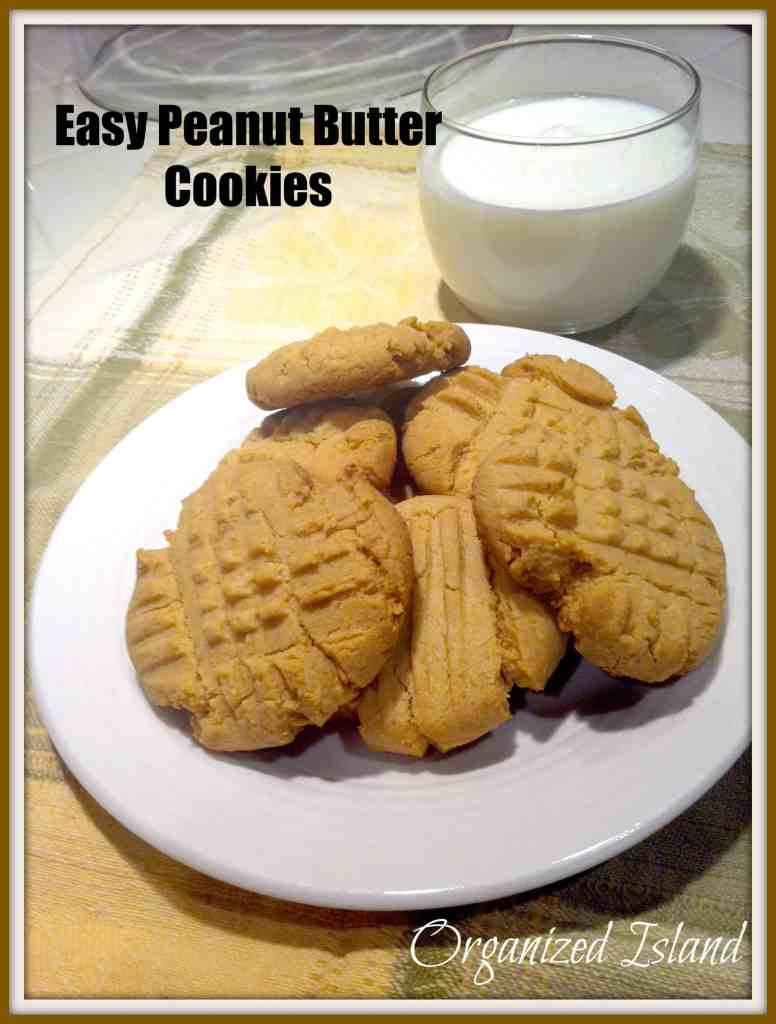 Peanut butter cookies from a cake mix