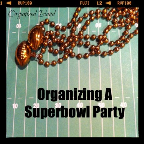 Organizing A Superbowl Party