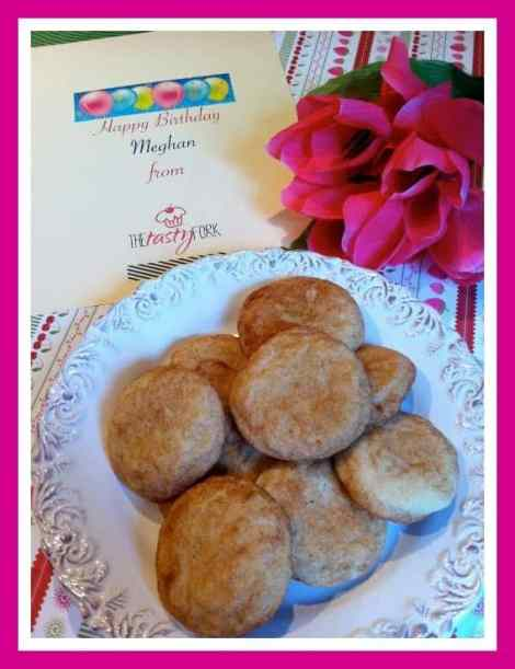 Snickerdoodles for Meg
