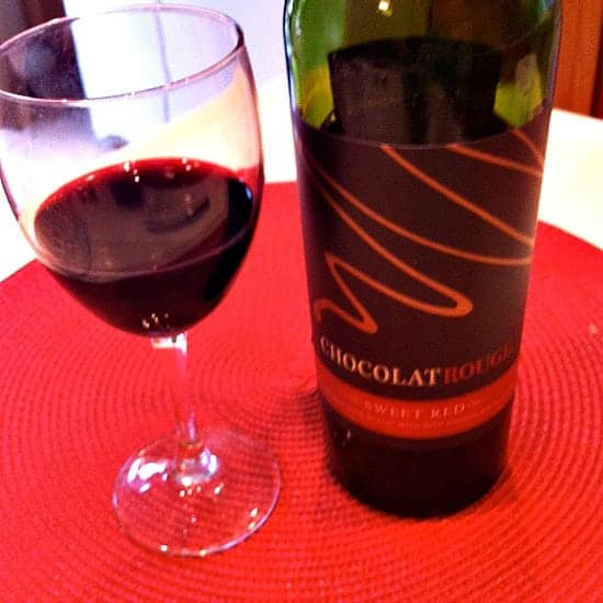 Enjoying-ChocolatRouge-Chocolate-Wine #Cheers2Chocolate #shop