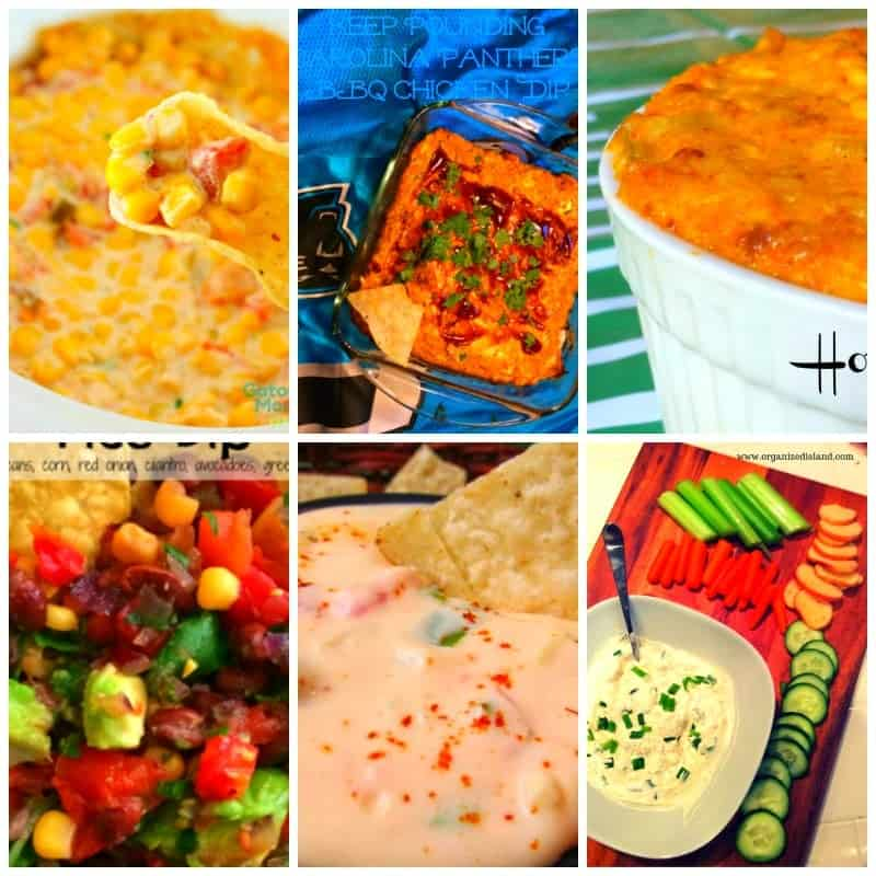 Easy Dip recipes for the big game day!