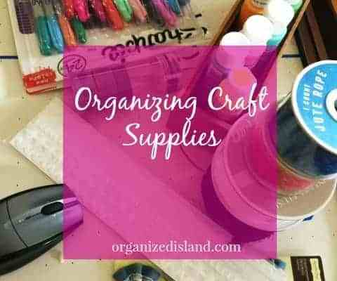 Organizing Solution for Craft Supplies