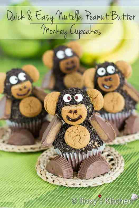 nutella-peanut-butter-monkey-cupcakes-16-title