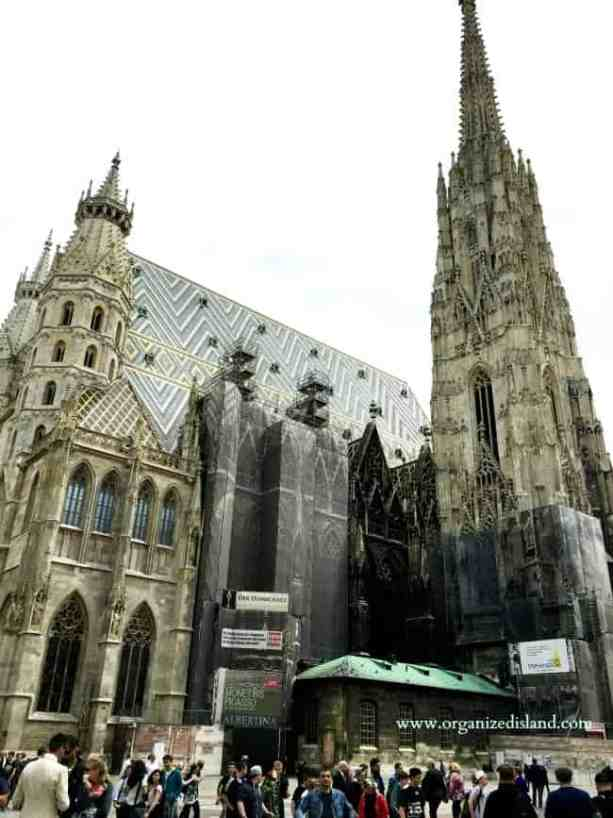 St.Stephen's cathedral in Vienna. Visiting Vienna for the first time.