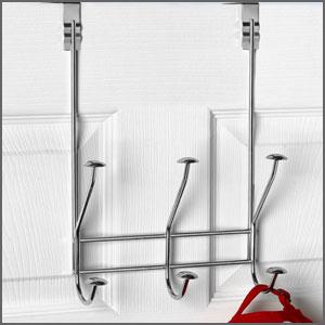 over the door hook rack