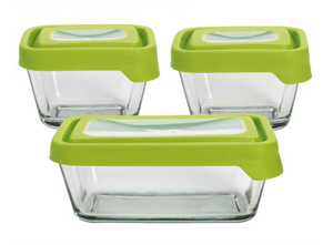 trueseal glass storage containers