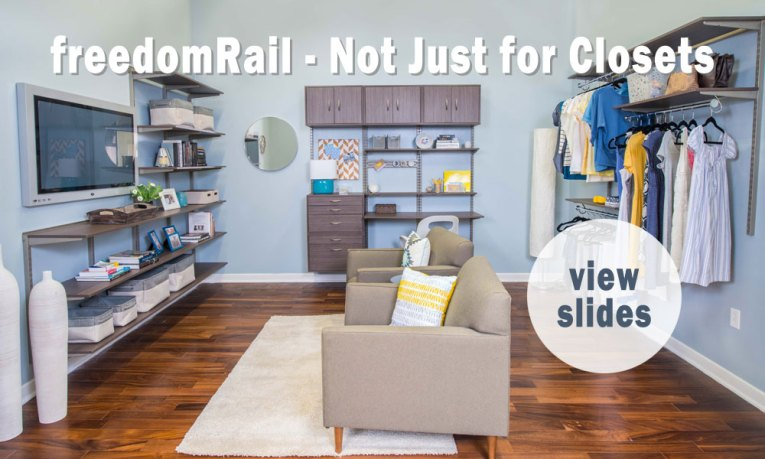 freedomRail - Not Just for Closets