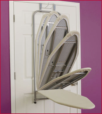 Over-Door Ironing Board