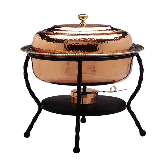 copper chafing dish 6 quart