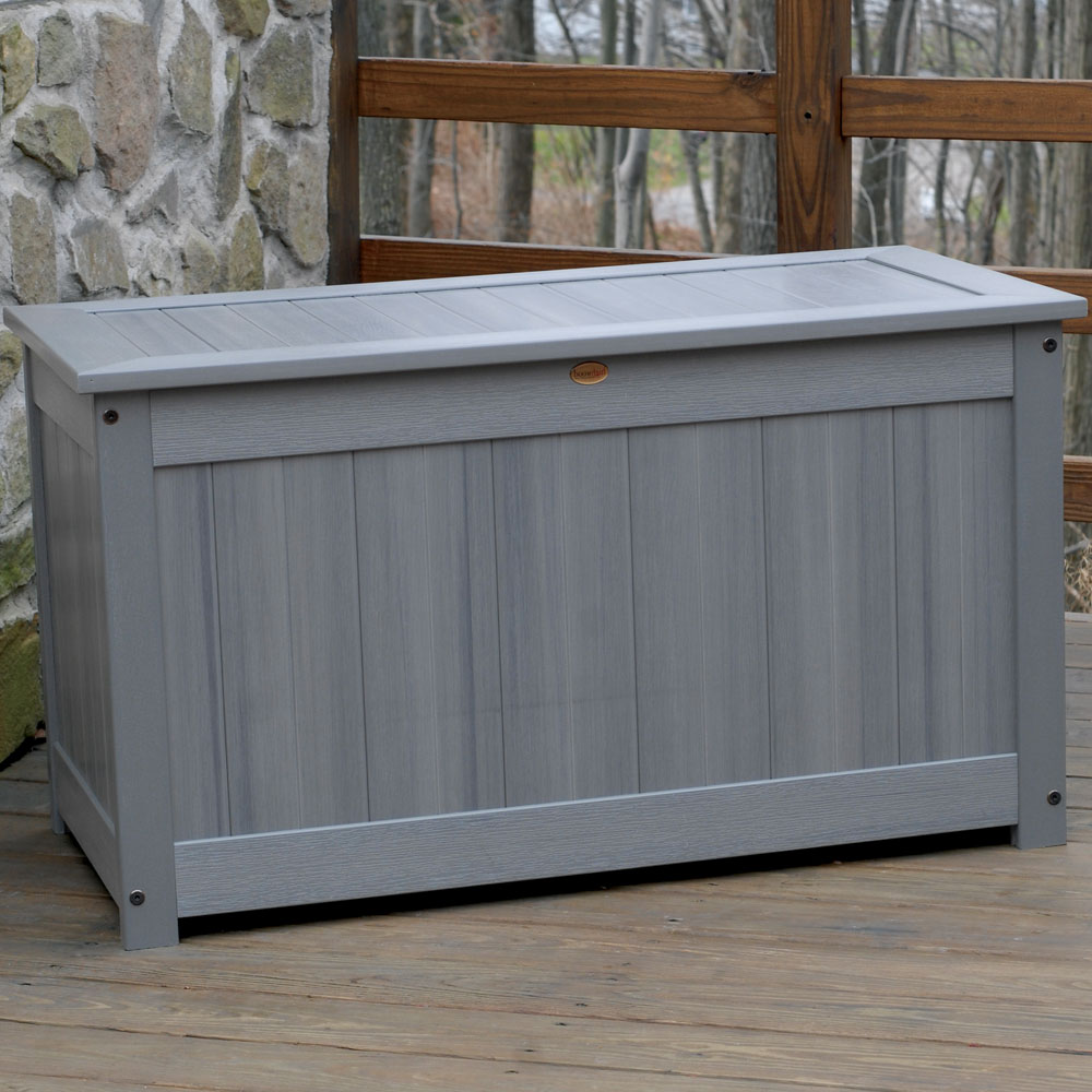 OrganizeIt Large Deck Storage Box Image Click Any Image To View In High Resolution