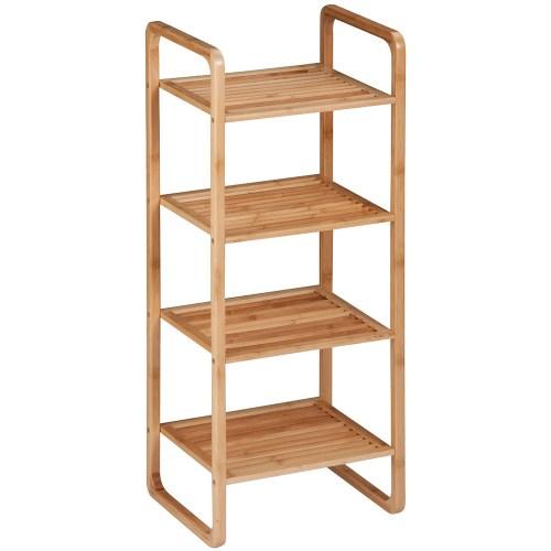 Medium Crop Of Wood Bathroom Shelf