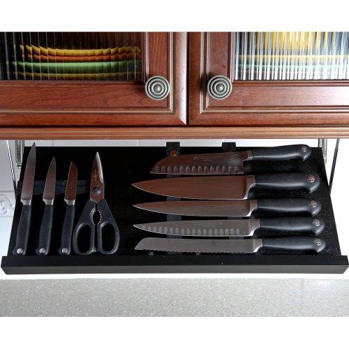 Medium Crop Of Under Cabinet Knife Storage