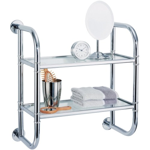 Medium Of Bathroom Mounted Shelves