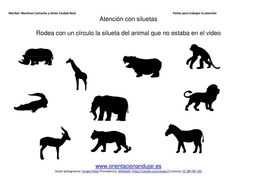 Imagen Silueta Del Animal Salveje Que No Esta En Video Animales Granja