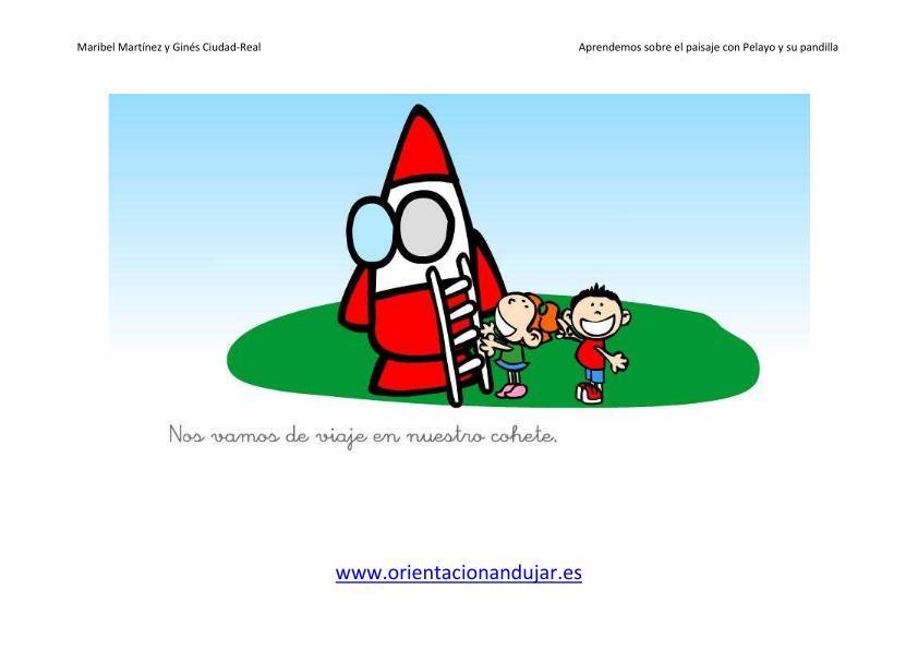 Educacion Infantil el paisaje imagen