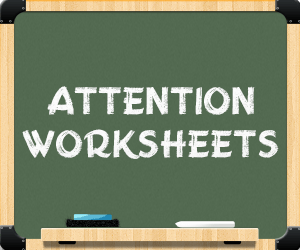 """attention worksheets banner"""