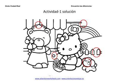 encuentra las diferencias dibujos animados  1