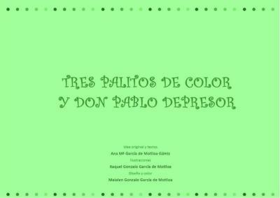tres palitos de color