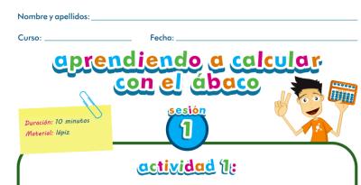Aprendiendo a calcular con el ábaco, el ábaco y su historia PROFESOR