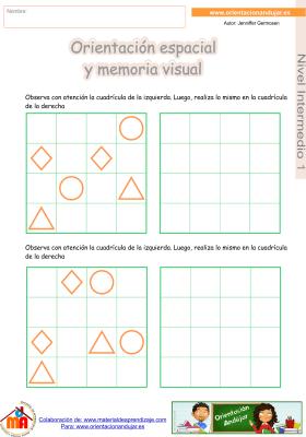 09 Intermedio 1 orientaci¢n espacial y memoria visual