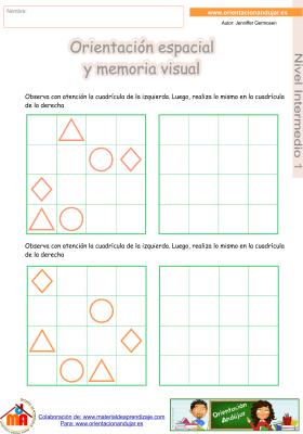 10 Intermedio 1 orientaci¢n espacial y memoria visual