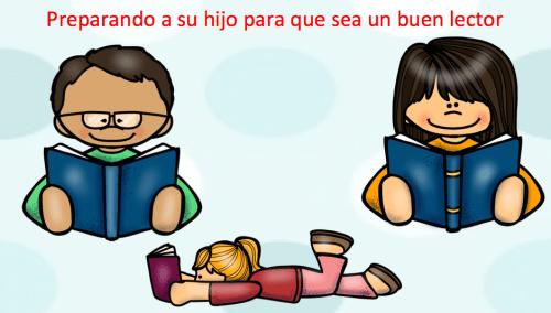 Preparando a su hijo para que sea un buen lector